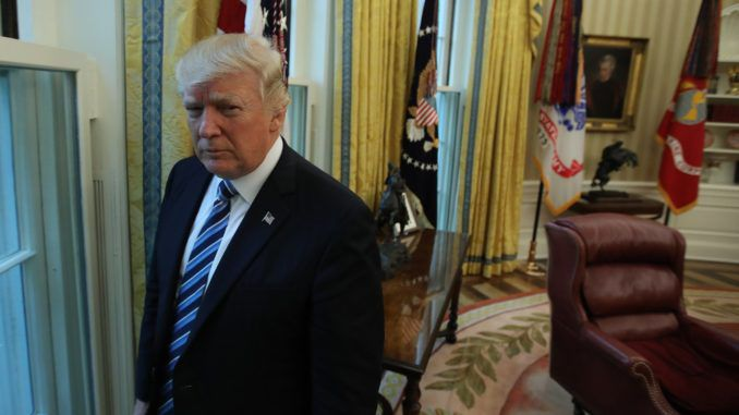 Trump says Deep State operatives in the FBI and DOJ tried to prevent his presidency