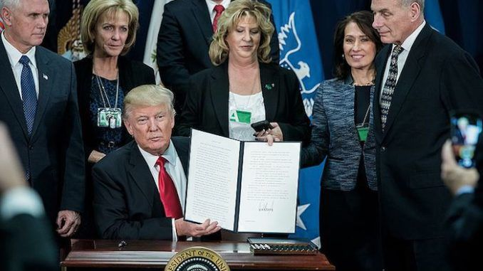 President Trump's ban on allowing welfare dependent immigrants to settle in the United States would be a$57.4 billion tax cut for Americans.