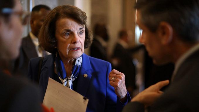Senator Feinstein hired Chinese spy to dig dirt on Republicans, FBI has discovered