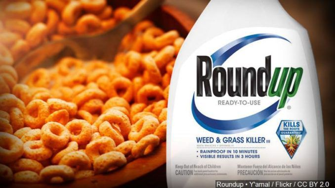 Popular weed killer Roundup, found in children's cereals, linked to cancer