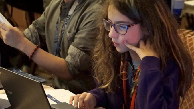 11 year old girl shows how easy it is to hack midterm elections