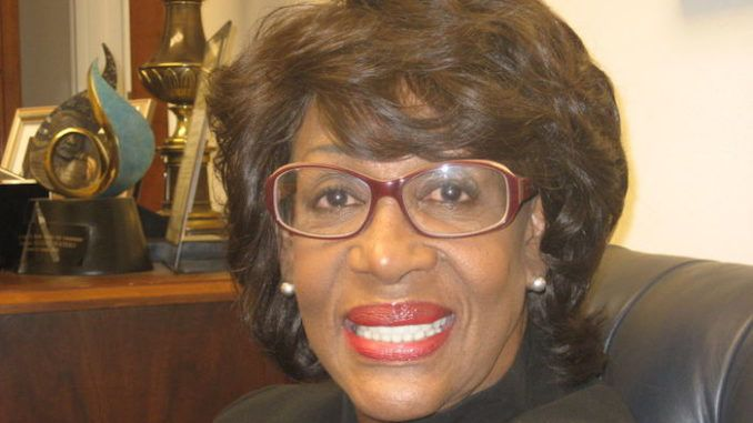 Maxine Waters indicted on 750k wire fraud
