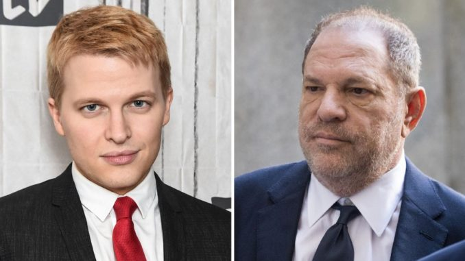 Ronan Farrow was ordered by NBC bosses not to expose the truth about Harvey Weinstein