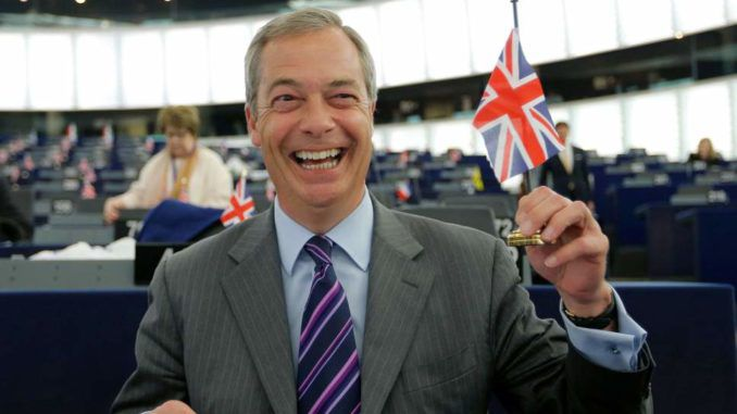 Nigel Farage launches new Brexit campaign