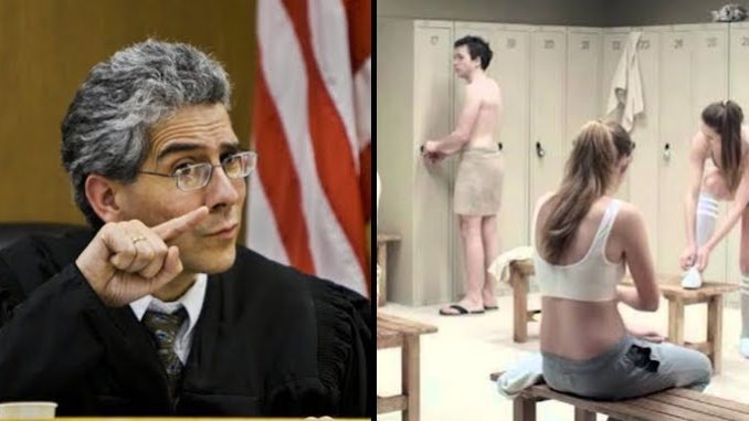 A federal judge has ruled boys have a Constitutional right to use girls' rest rooms and showers if they feel like it, and vice versa.