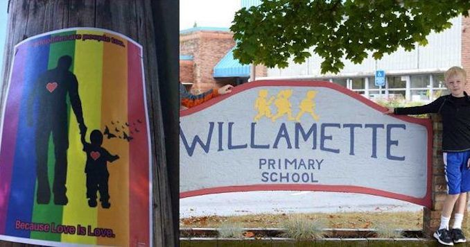 School in Portland under fire after allowing 'pedophiles are people' poster to be posted