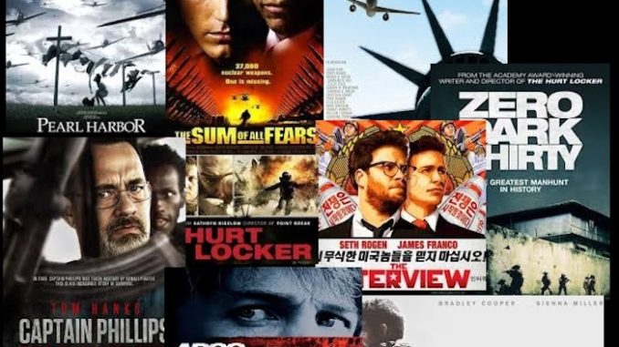These movies were all written and directed by the Pentagon without you knowing