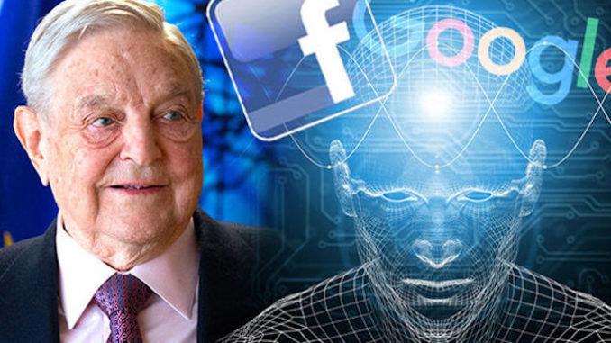 George Soros wants to eliminate all Trump supporters from the Internet by 2020