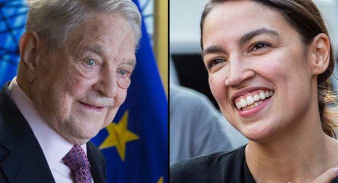 Ocasio-Cortez says Soros helped her win primary election