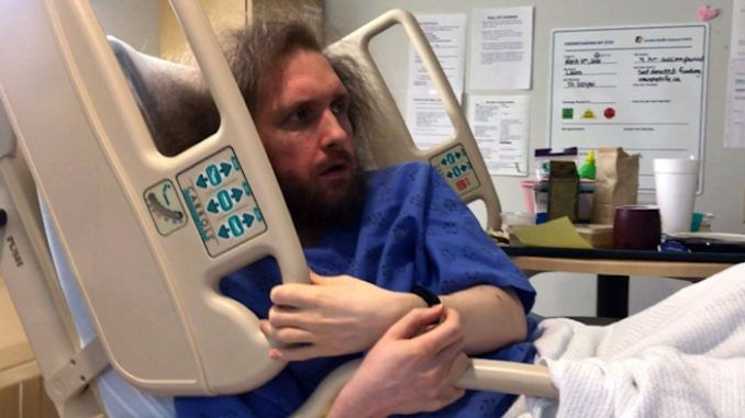 Terminally ill man films hospital staff plotting to euthanise him against his will