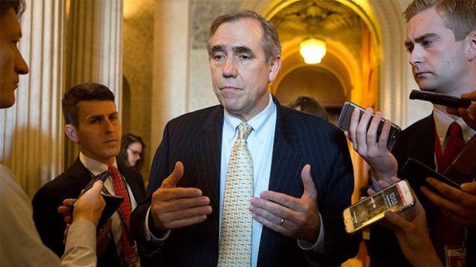 Democratic Senator Jeff Merkley files injunction to stop Kavanaugh confirmation
