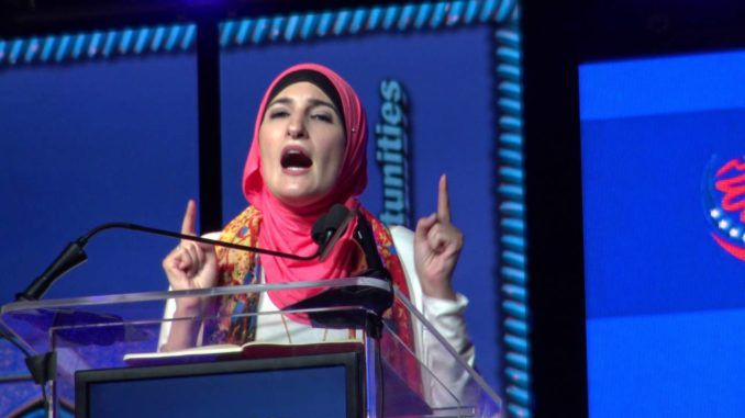 Prominent far-left activist Linda Sarsour dropped her guard this week and unleashed the kind of retrograde racism that hasn't been seen in this country for centuries when she claimed that Jews are not human.