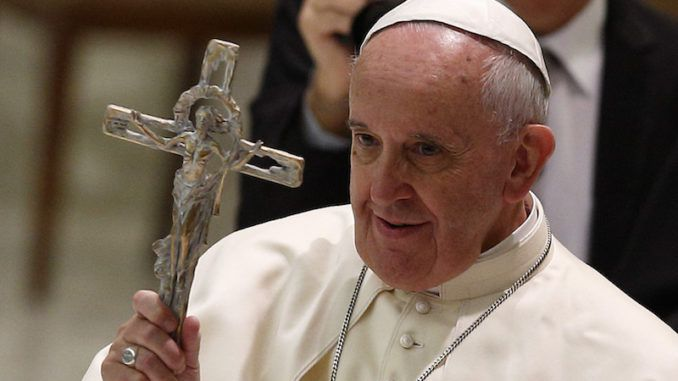 """Pope Francis has compared people who accuse Catholic bishops of sex crimes and cover ups to Satan, while claiming these whistleblowers are only seeking to """"unveil sins"""" in order to """"scandalize people."""""""