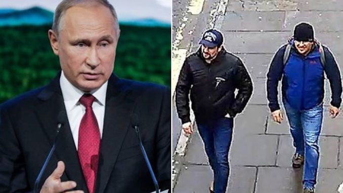 Putin says he has identified the suspects responsible for Novichok poisoning