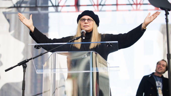 Barbra Streisand demands illegal aliens be given right to vote