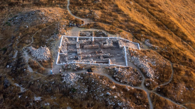 """A team of Israeli archaeologists has found King David's city """"exactly where the Bible said it was,"""" in present-day Israel."""