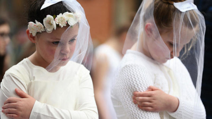 Child marriage is still sanctioned in much of the United States and pedophiles are taking advantage of archaic laws to rape, impregnate and then marry their victims in perfectly legal ceremonies.