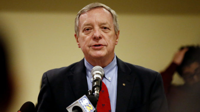 Senator Dick Durbin (D-IL) has admitted the violent protests surrounding the Senate Judiciary Committee hearing on the nomination of Judge Brett Kavanaugh to the Supreme Court were organized by top Democrats.