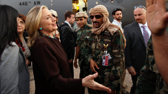 Hillary faces up to 5 years in prison for lying about Syrian weapons to Congress