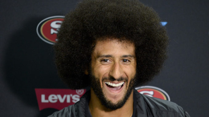 Colin Kaepernick, who enjoys singing the praises of communist leaders while promoting anti-capitalist views, has just started selling a new range of non-name brand T-shirts with the eye-watering price tag of $175.