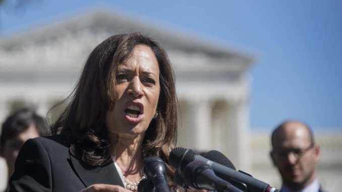 Dem Rep. Kamala Harris voted most corrupt Senator
