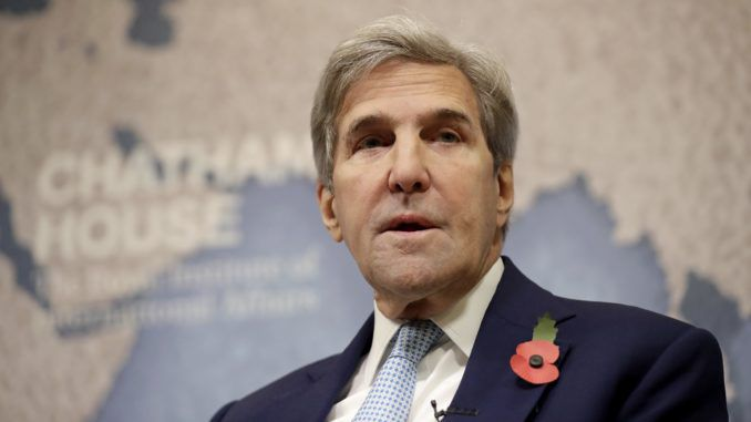 White House consider criminal indictments against former Secretary of State John Kerry