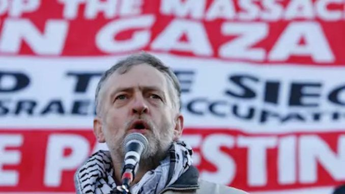 Labour leader Jeremy Corbyn says he will recognize Palestine as a sovereign state if his party gets into power