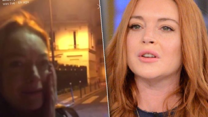 98bbffa92 Lindsay Lohan Punched In Face After Trying To Kidnap Refugee ...