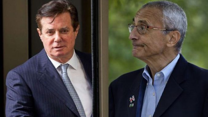 Democrats panic as Manafort looks set to rat on Podesta