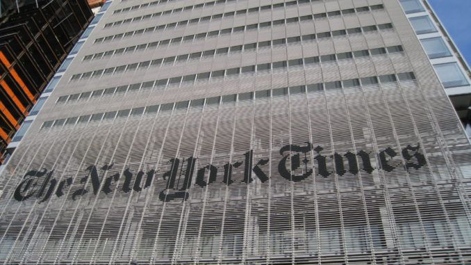 New York Times aggressively lobbies Facebook to ban alternative media