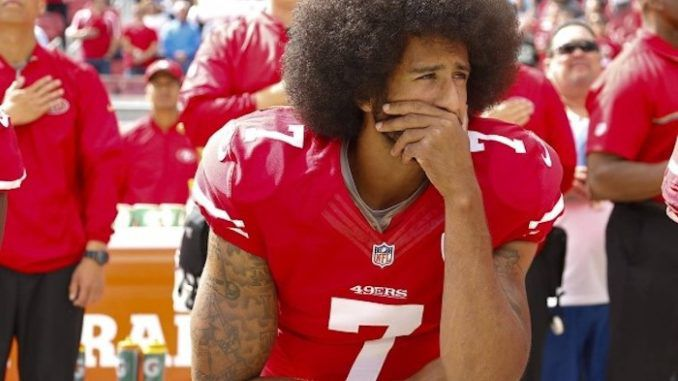 "Nike stocks plunged on Tuesday after the sportswear giant unveiled a ""disastrous"" new advertising campaign featuring the divisive NFL figure Colin Kaepernick."