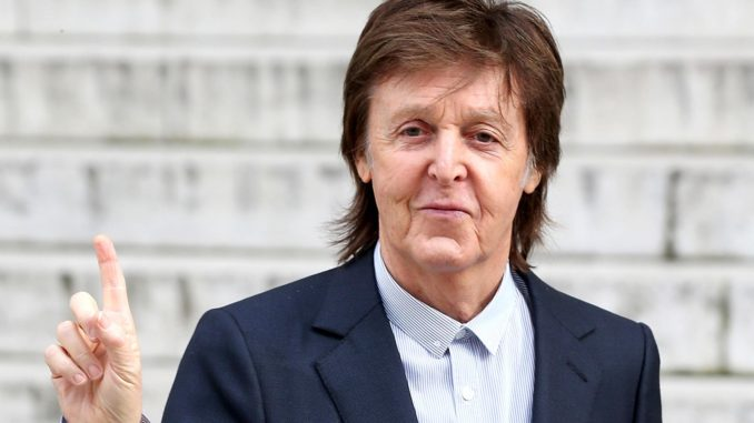 """Sir Paul McCartney has described his experience of coming face to face with God, an """"amazing, towering"""" entity he says looked like """"a massive wall""""."""