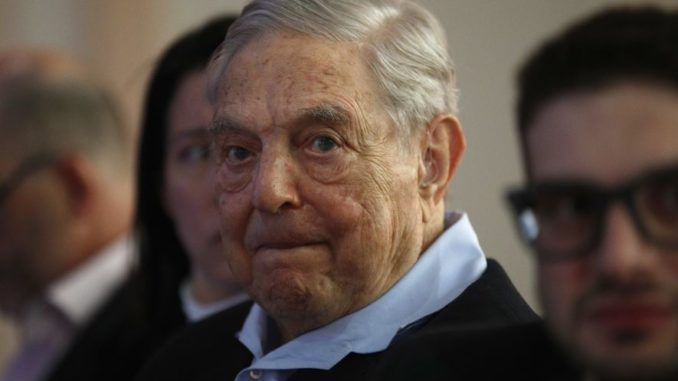 George Soros caught spending 5 million dollars to bring down Kavanaugh