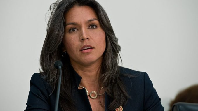 Tulsi Gabbard accuses Neocons responsible for 9/11 as being responsible for Syria invasion