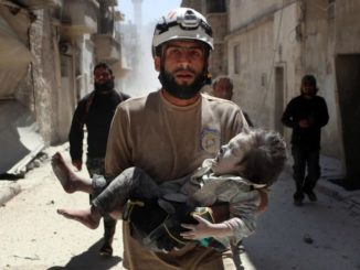 The White Helmets are kidnapping children with disabilities in order to use them in another staged chemical attack, according to Syrian mothers.