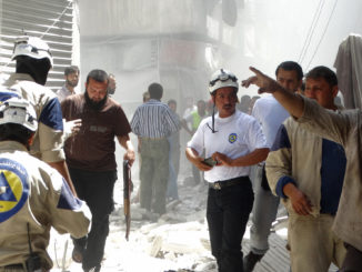 White Helmets caught filming new chemical attacks in Syria, Russian MoD says