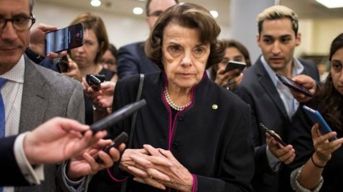 Sen. Dianne Feinstein says she refuses to accept the FBI findings on Kavanaugh