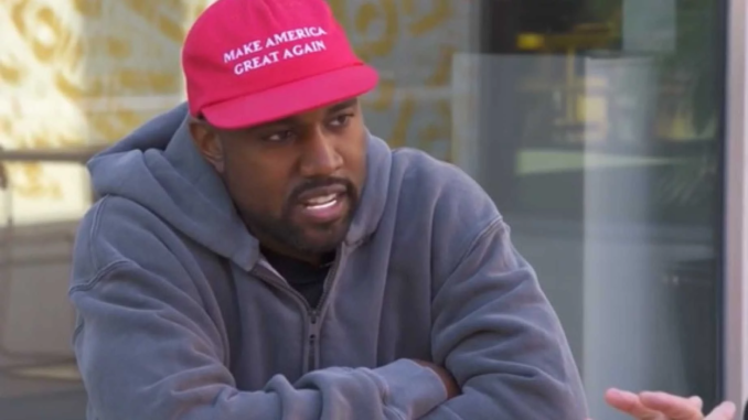 Kanye West was asked to take off his Make America Great Again hat to please Hollywood elites live on TMZ - and his response put the arrogant liberal presenter back in his place.