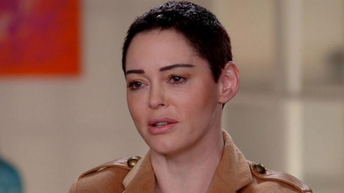 Rose McGowan admits that MeToo movement is run by fake Hollywood liberals