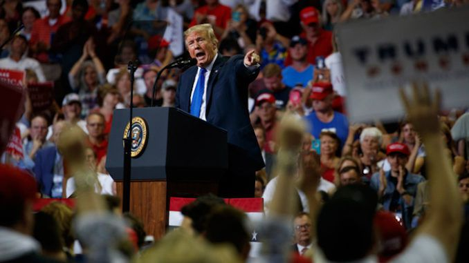 President Trump says ordinary Americans are angry at Democrats mistreatment of Kavanaugh
