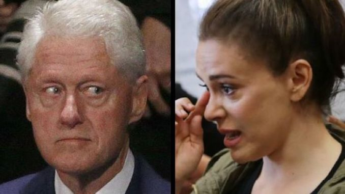 Alyssa Milano says Bill Clinton needs to be investigated for rape