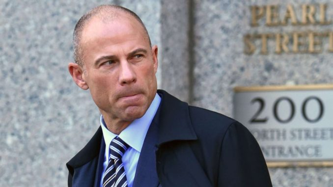 """Creepy porn lawyer Michael Avenatti has come under fire over a now-deleted tweet encouraging people to""""chip in for Beto now,"""" linking to what appeared to be a fundraising page forTexas Democratic Senate candidate Beto O'Rourke."""
