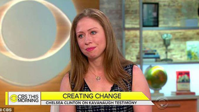 Chelsea Clinton lectures CBS about sexual misconduct