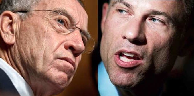 Senator Grassley refers Avenatti and his client for criminal investigation