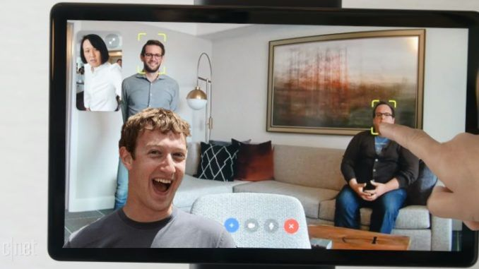 Facebook unveils creepy new portal camera that peeps on you at home