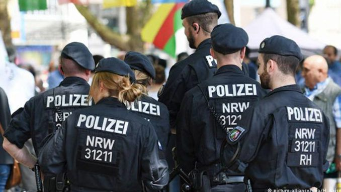 German father arrested for protecting young daughter from migrant pedophile rapist