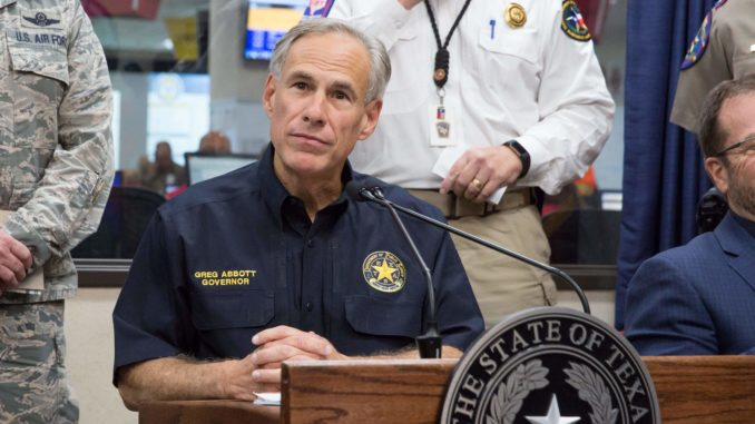 "Gov. Abbott says the migrant caravan contains radical Islamic terrorists that have been recruited from ""countries all over the globe."""