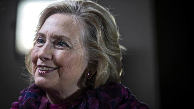 Hillary Clinton hints at 2020 run