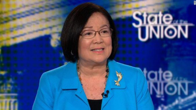Democrat Sen. Hirono says assaults against GOP senators are justified because of 'white nationalism'