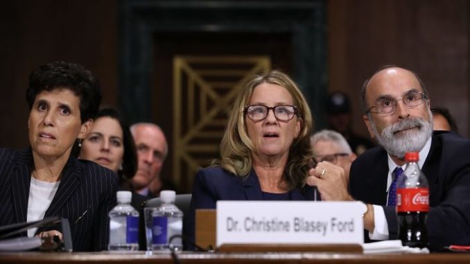 Judicial Watch files complaint against Christine Ford's lawyers